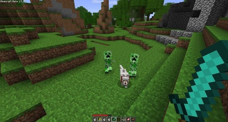 Stalker Creepers mod for minecraft 02