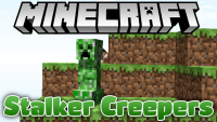 Stalker Creepers mod for minecraft logo