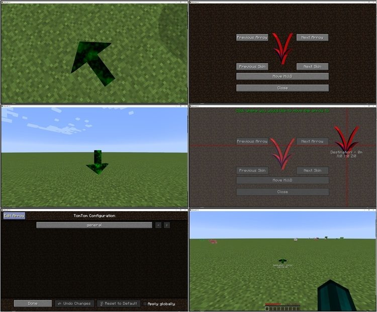 TomTom Mod for Minecraft 1