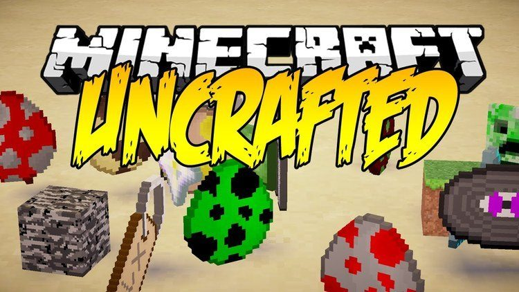 Uncrafted Mod for Minecraft Logo