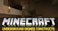 Underground Biomes Constructs mod for minecraft logo