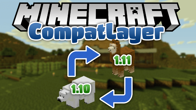 compatlayer mod for minecraft logo