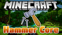 hammer core mod for minecraft logo
