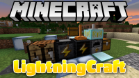 lightningcraft mod for minecraft logo