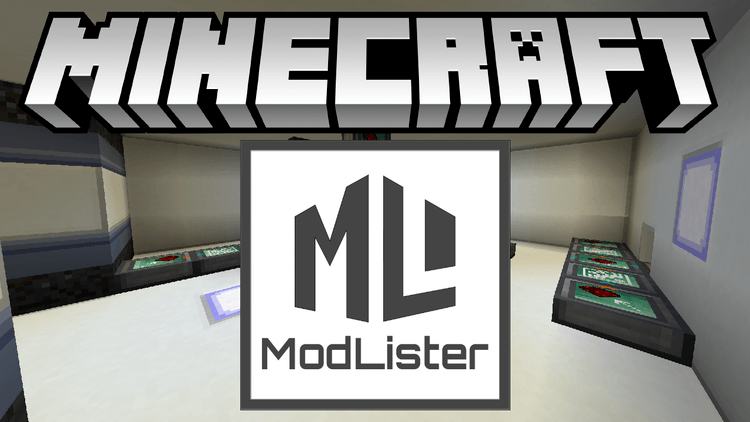 modlister mod for minecraft logo