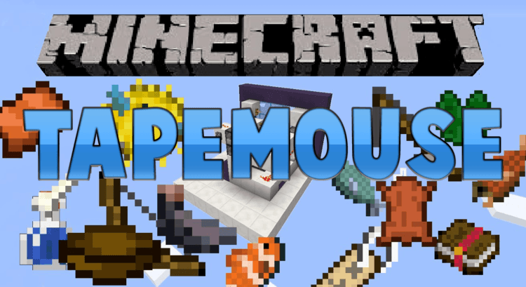 tapemouse mod for minecraft logo