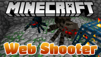 web shooter mod for minecraft logo
