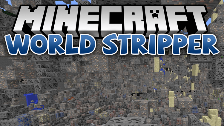 world stripper mod for minecraft logo