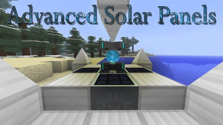 Advanced Solar Panel Mod for Minecraft Logo