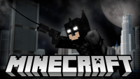 Batman command block for minecraft logo