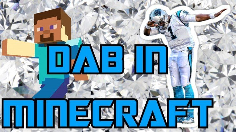 Dab Mod for Minecraft Logo