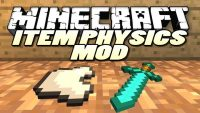 ItemPhysic Mod for Minecraft Logo