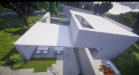 Kiến trúc TRẮNG Resource Pack Minecraft WHITE Architecture 2