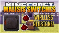 Malisis Switches mod for minecraft logo