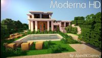 Moderna HD Resource Pack cho Minecraft Logo