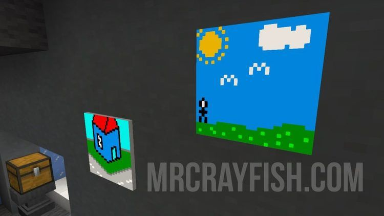 MrCrayfish's Custom Painting Mod for Minecraft 6