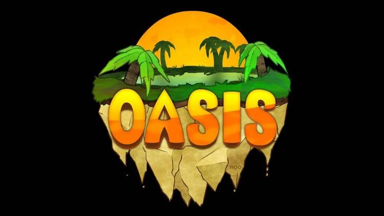 Oasis Craft resourcepack for minecraft logo