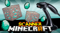 Scanner mod for minecraft logo