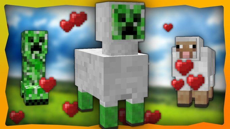Sheepers Command Block cho Minecraft - Khi Creeper biết