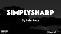 SimplySharp Resource Pack for Minecraft Logo