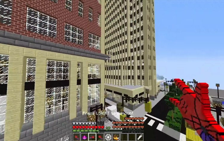 Spiderman Map for Minecraft 7