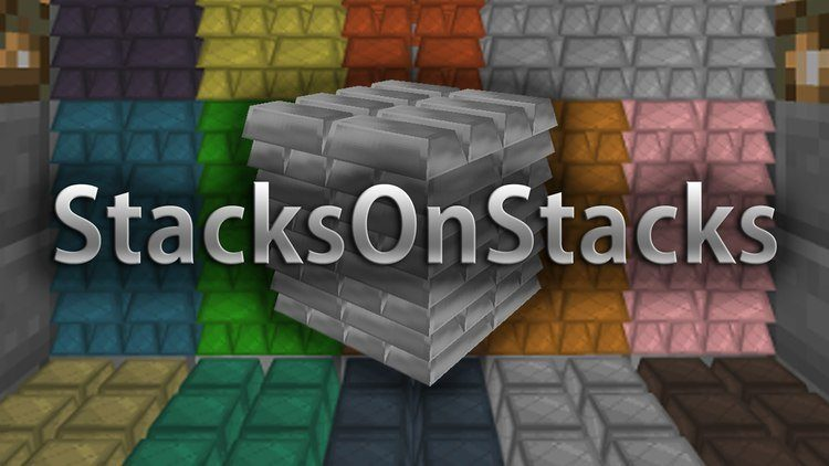 StacksOnStacks Mod for Minecraft Logo