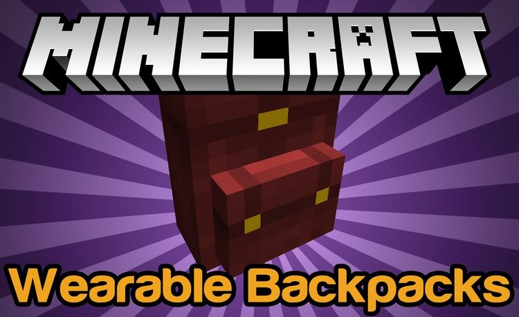 Wearable Backpacks Mod for Minecraft Logo