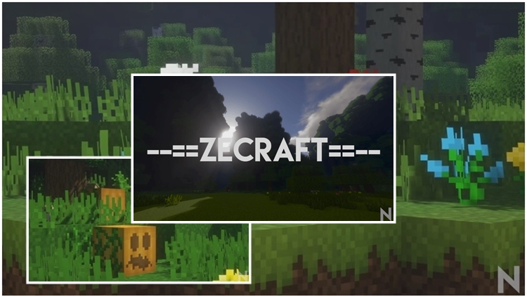 ZeCraft Resource Pack Logo