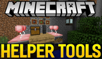 helper tools mod for minecraft logo