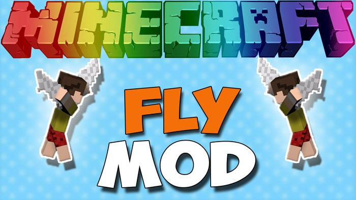 3d fly mod for minecraft logo