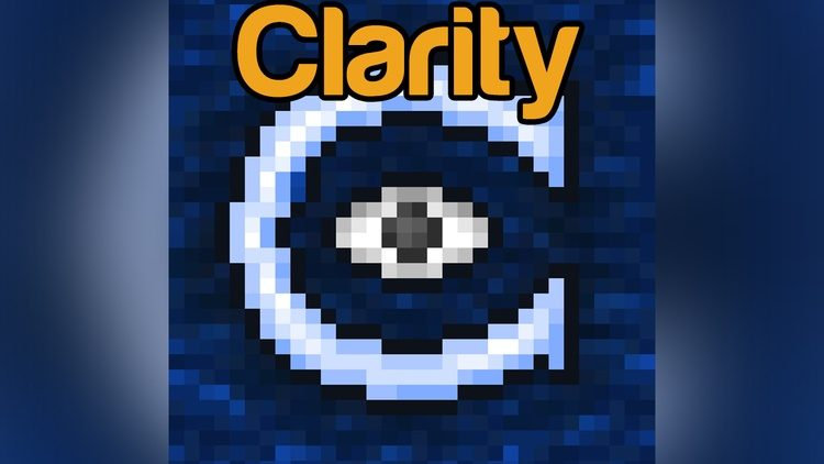 Clarity Mod for Minecraft Logo