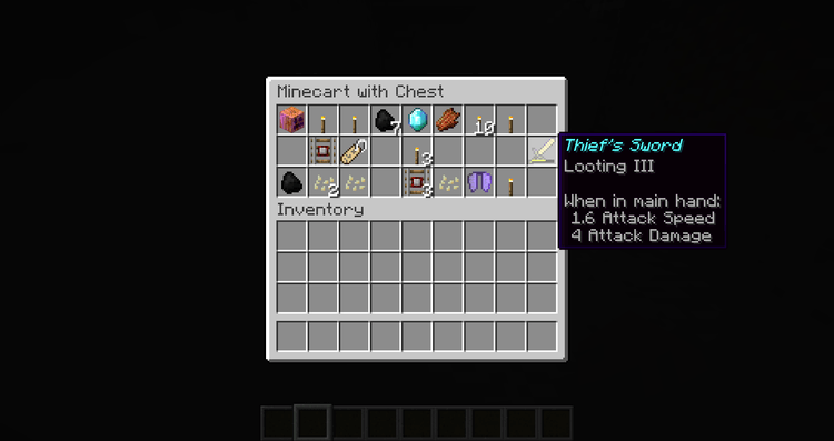 Customized Dungeon Loot mod for minecraft 02