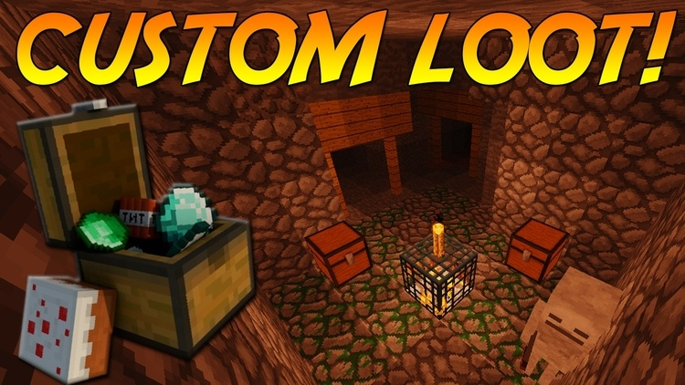 Customized Dungeon Loot mod for minecraft logo