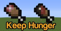 Keep Hunger Mod for Minecraft Logo