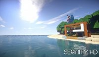 Serinity HD Resource Pack for Minecraft Logo