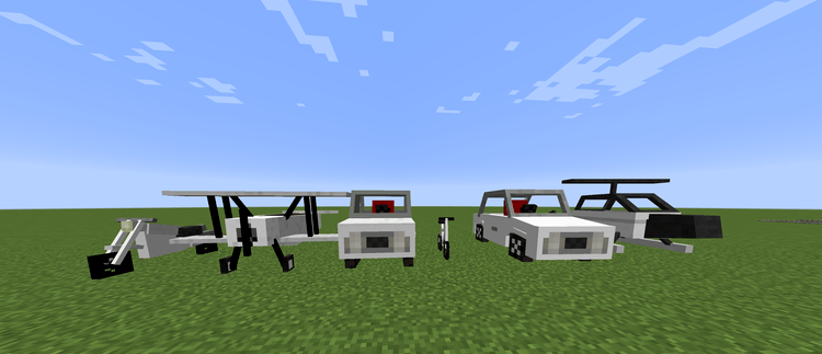 Vehicles Mod for minecraft 4