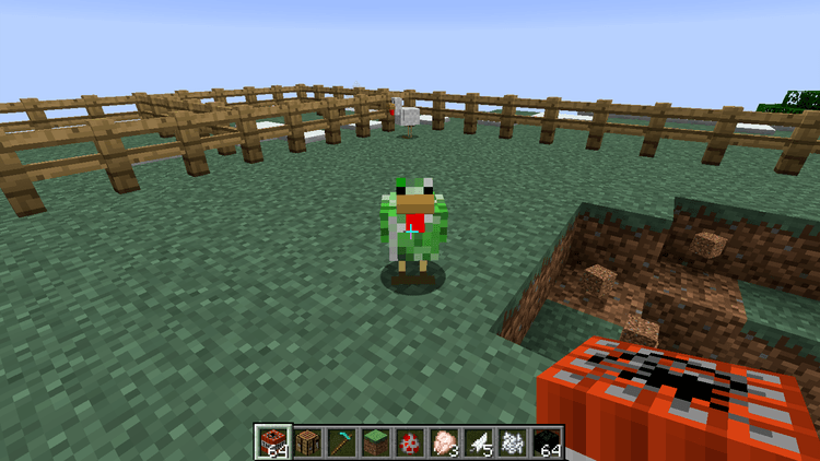 creeper chickens mod for minecraft 01
