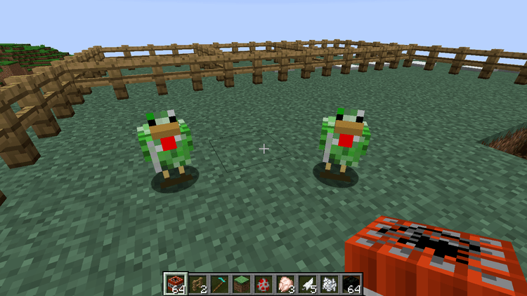 creeper chickens mod for minecraft 04
