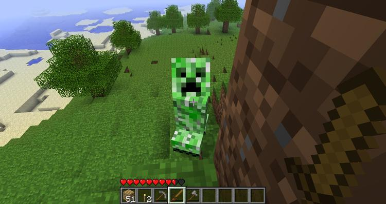 forge creeper heal mod for minecraft 02