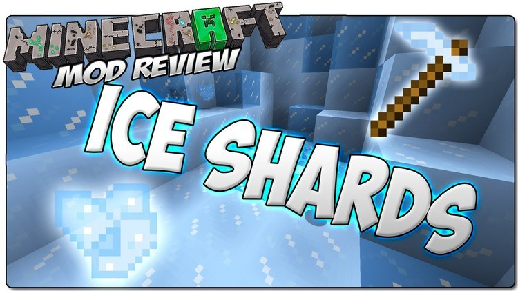 ice shards mod for minecraft logo