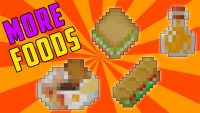 more food mod for minecraft logo