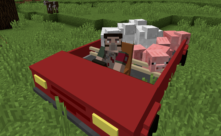personal cars mod for minecraft 1