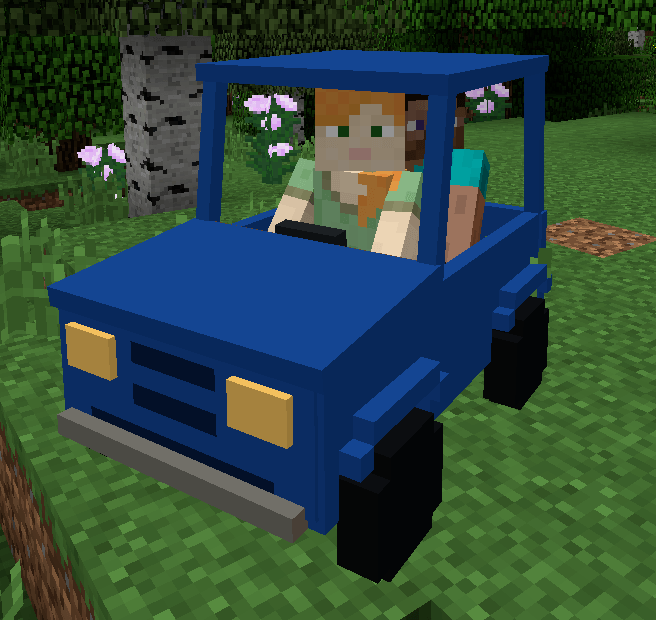 personal cars mod for minecraft 2