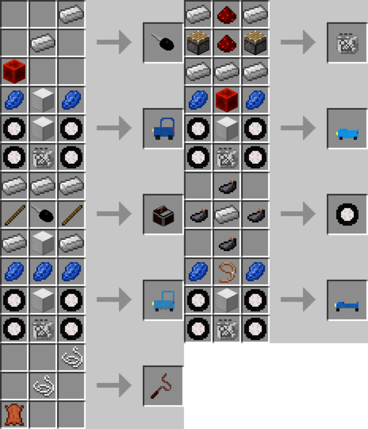 personal cars mod for minecraft 3