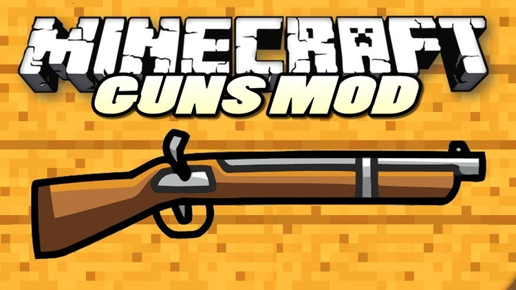 simple shotgun mod for minecraft logo