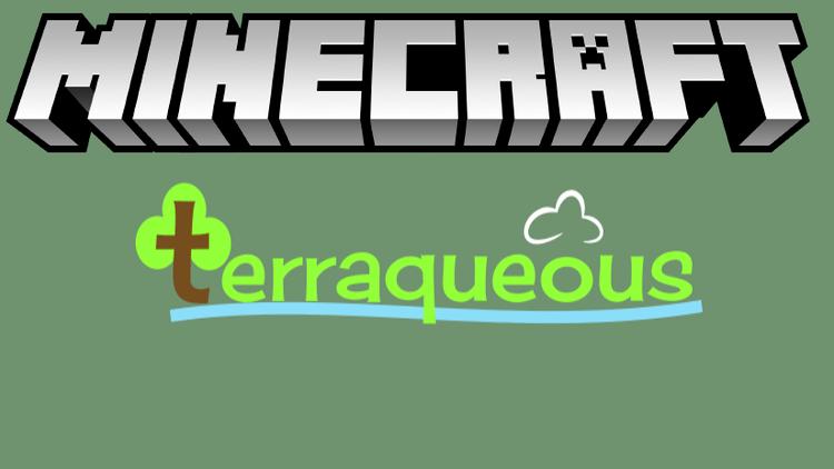 terraqueous mod for minecraft logo