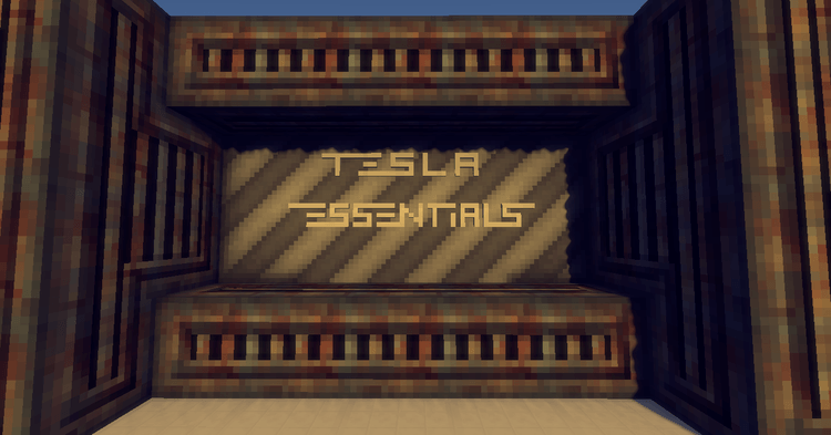 tesla essentials mod for minecraft logo