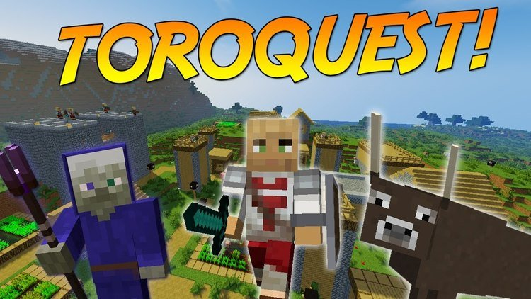 toroquest mod for minecraft logo