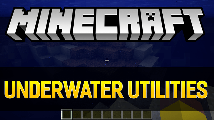 underwater ulitilities mod for minecraft logo