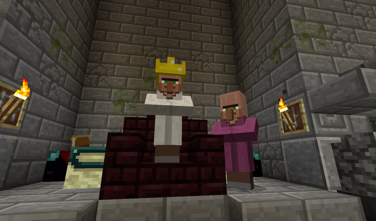 The Lady & The Tiger map cho Minecraft
